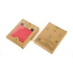 Boxer en coton biologique Red Sand