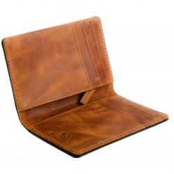 Porte-cartes Taupe homme
