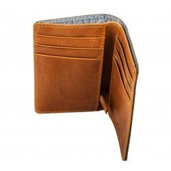 Card Holder with zipped pocket  Parme