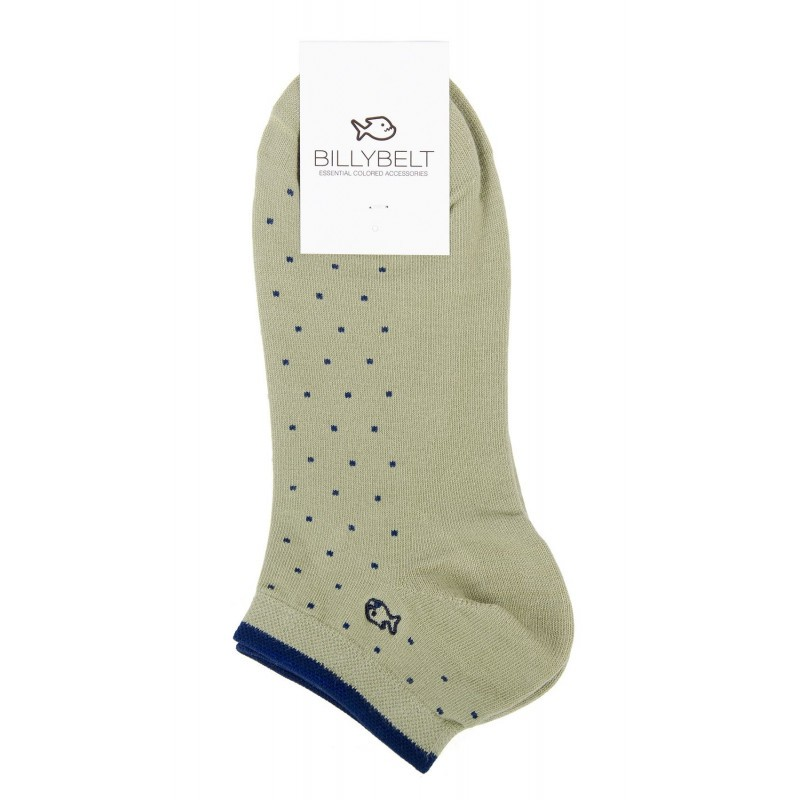 Men Ankle Socks Green almond square