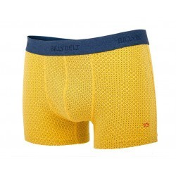 Boxer en coton biologique Saffron Point
