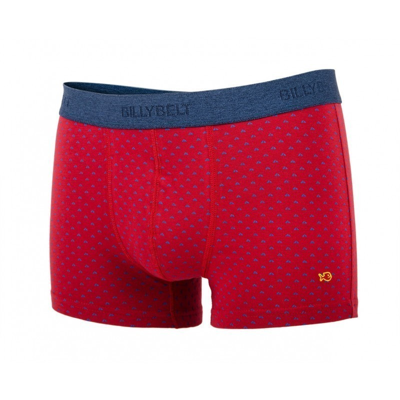 Boxer brief in organic cotton Red Sail