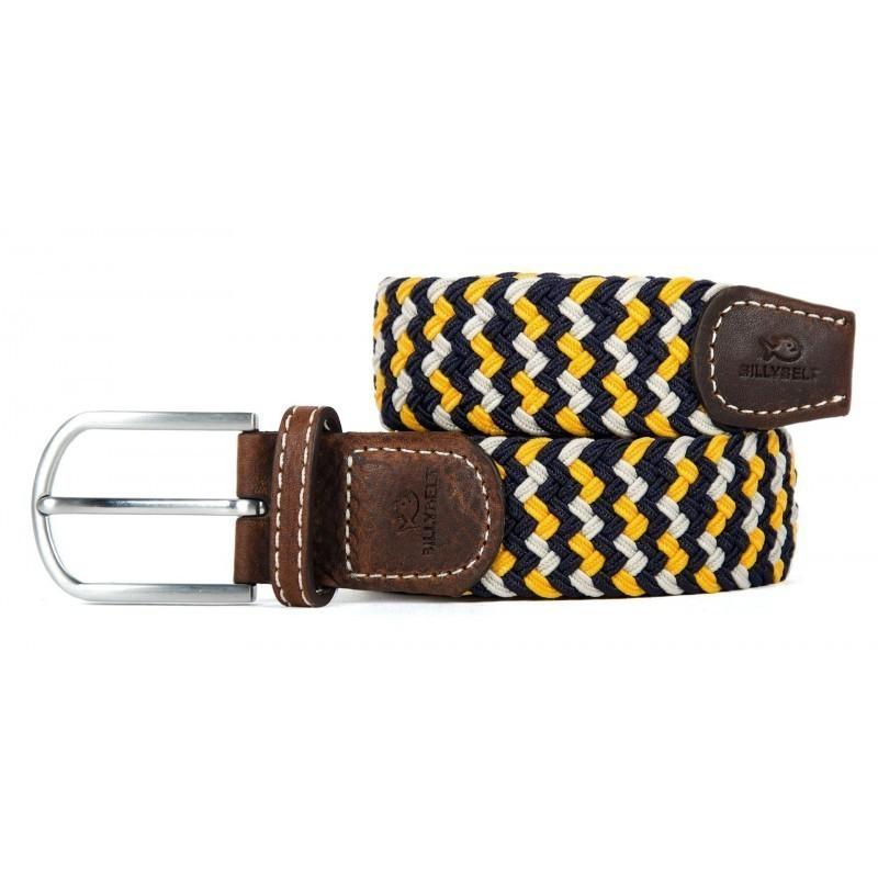 ceinture tress e lastique homme jaune la santorin taille. Black Bedroom Furniture Sets. Home Design Ideas