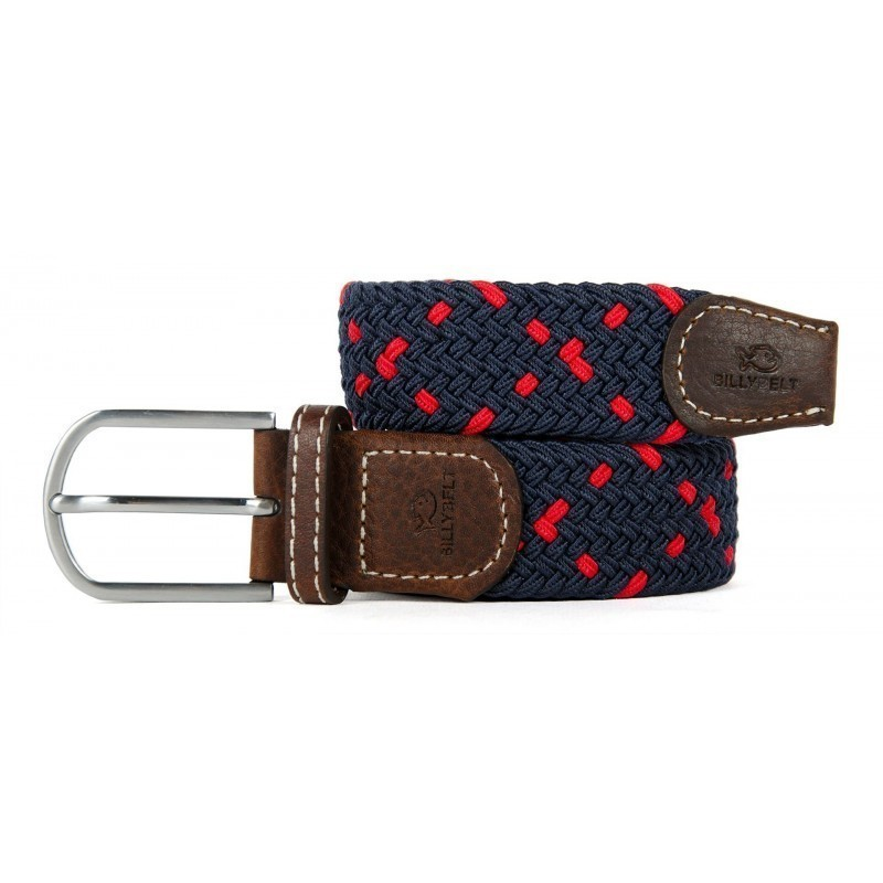 The Seville braided belt for men