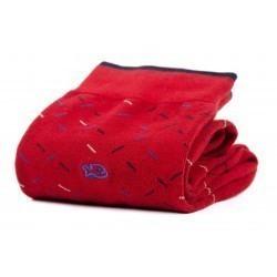 Chaussettes coton  Pimentée Rouge