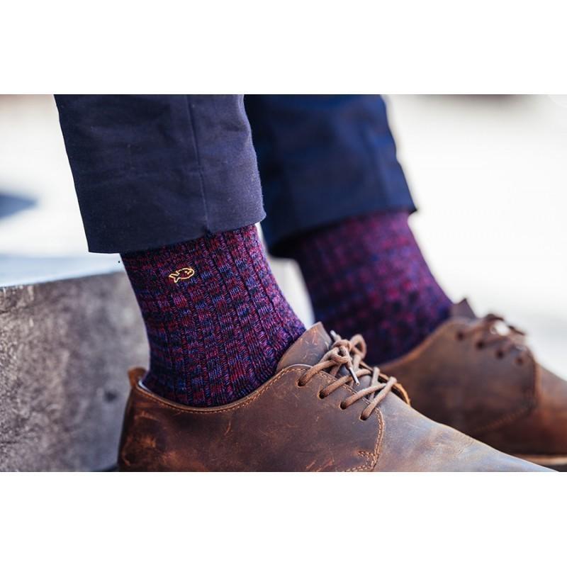 Chaussettes coton épais  La Chaleureuse