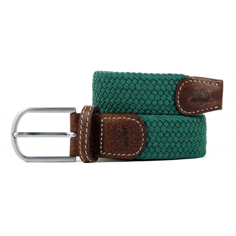 UK Green braided belt