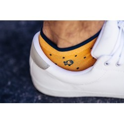 Men Ankle Socks Saffron square
