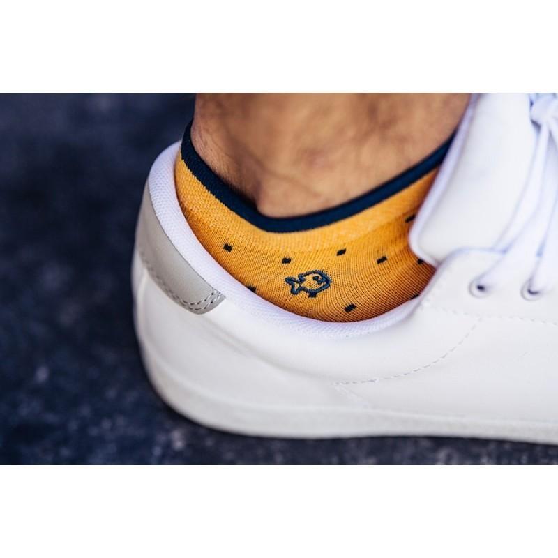 Cotton ankle socks   Saffron Square