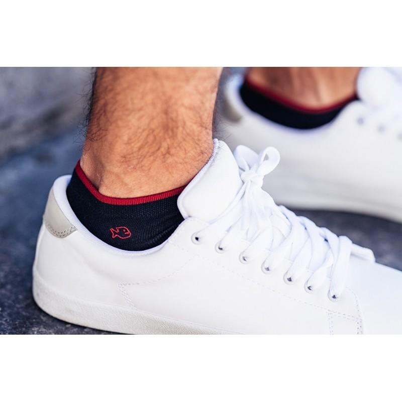 Cotton ankle socks  Navy Blue