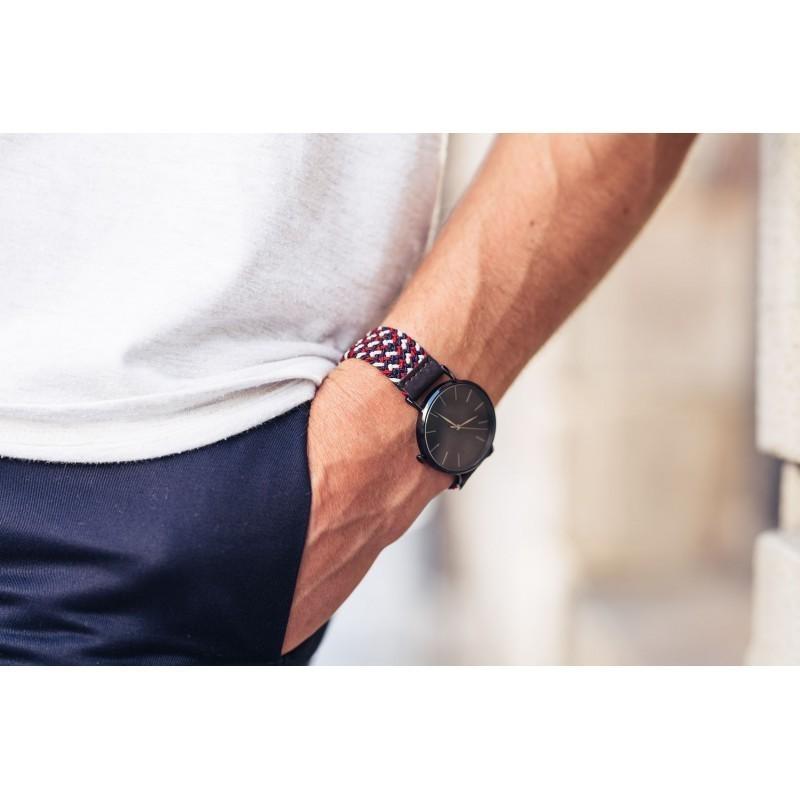 Bracelet de montre tressé  Amsterdam