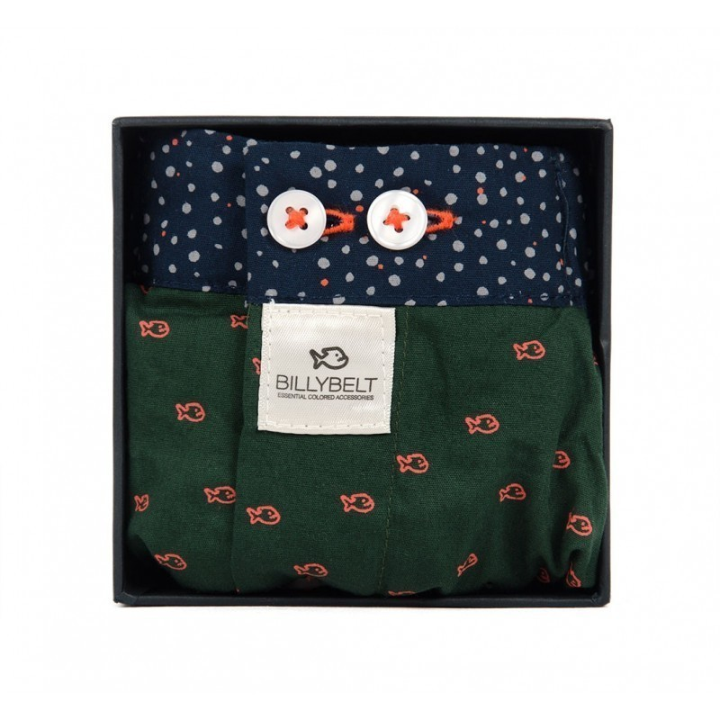Men organic cotton boxer shorts Billy Green