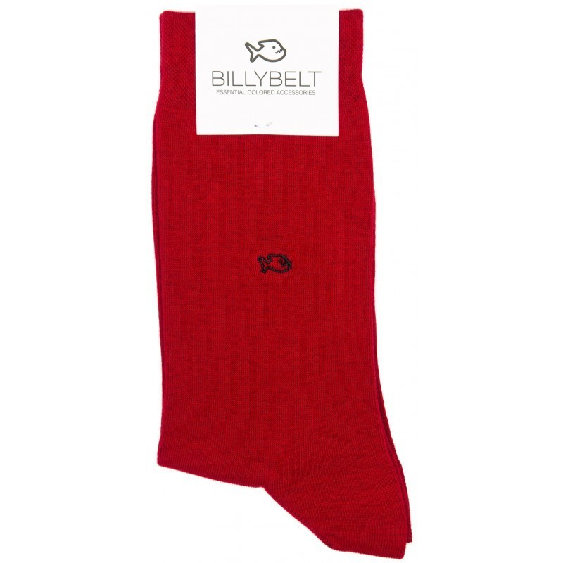 Chaussettes homme Rouge Grenade