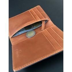 Porte-cartes avec poche zippée  Parme