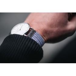 Bogota woven elastic watch strap