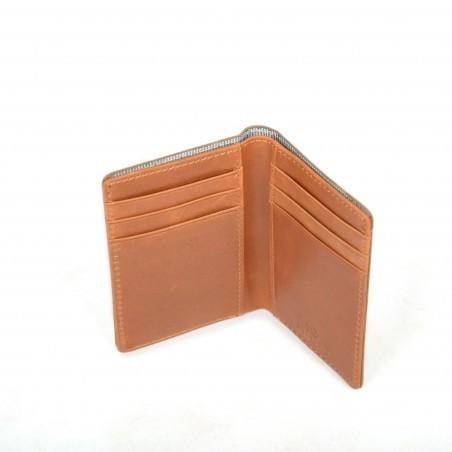 magasiner pour l'original vif et grand en style juste prix Porte cartes couleur marine en tissu de coton ciré et en ...