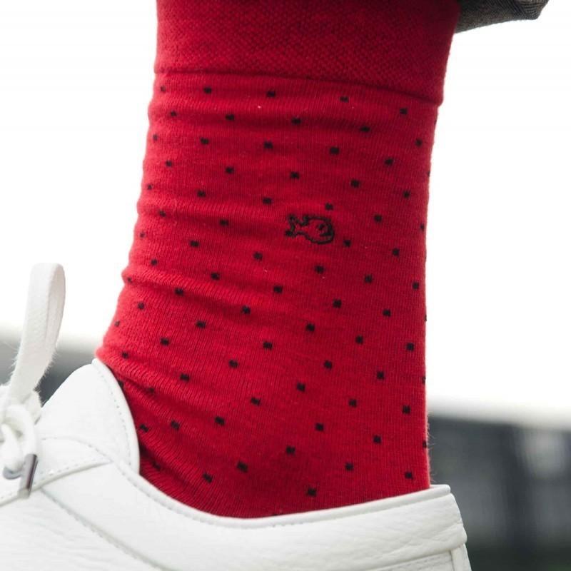 Cotton socks  Red Square