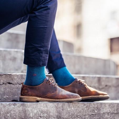 Coffret cadeau duo ceinture chaussettes homme