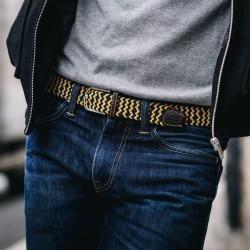 Elastic woven belt  The Santorini