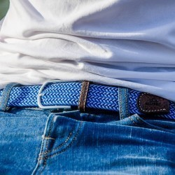 Elastic woven belt  The Paros
