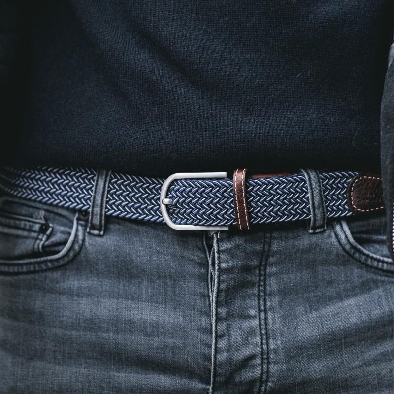 Elastic woven belt  The Bogota