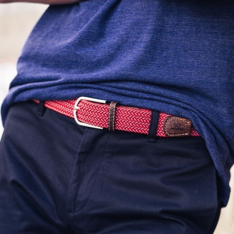 Elastic woven belt  The Mexico