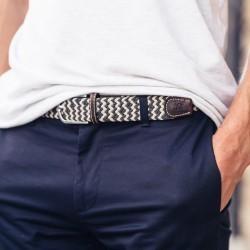 Elastic woven belt  The Panama