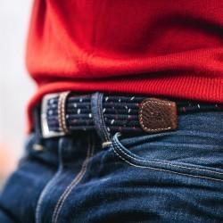 Elastic woven belt  The Club Grenadine