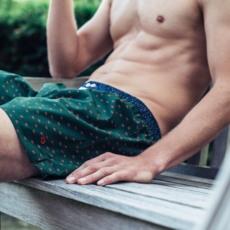 Organic cotton boxer shorts  Billy Green