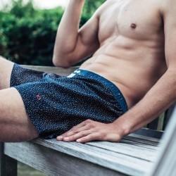 Organic cotton boxer shorts  Havana Sand