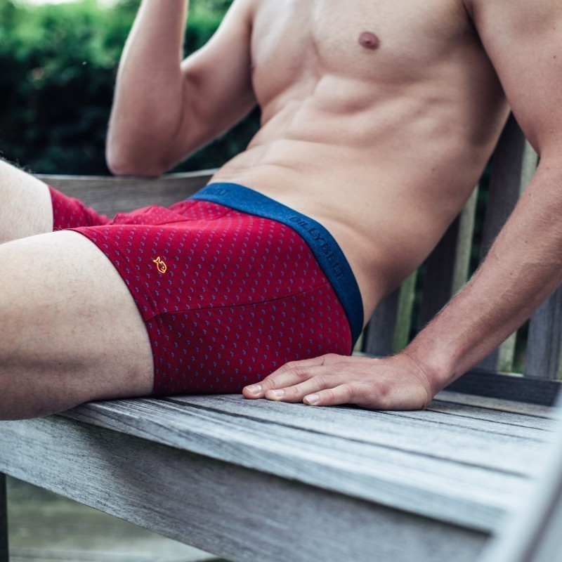 Boxer coton bio  Red Sail