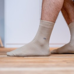 Cotton socks  Beige
