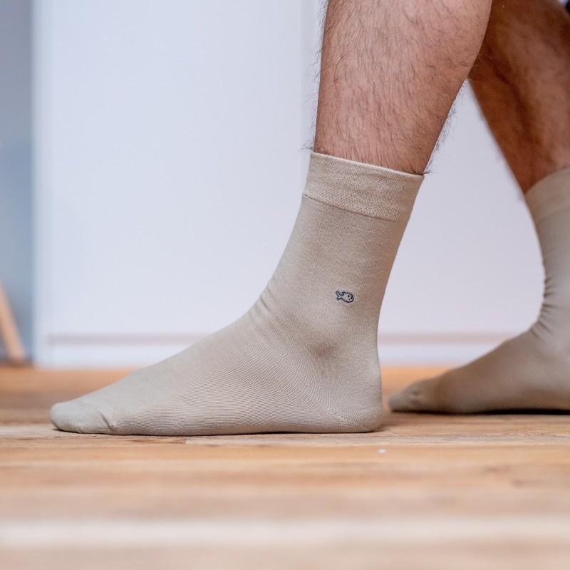 Cotton socks  Beige