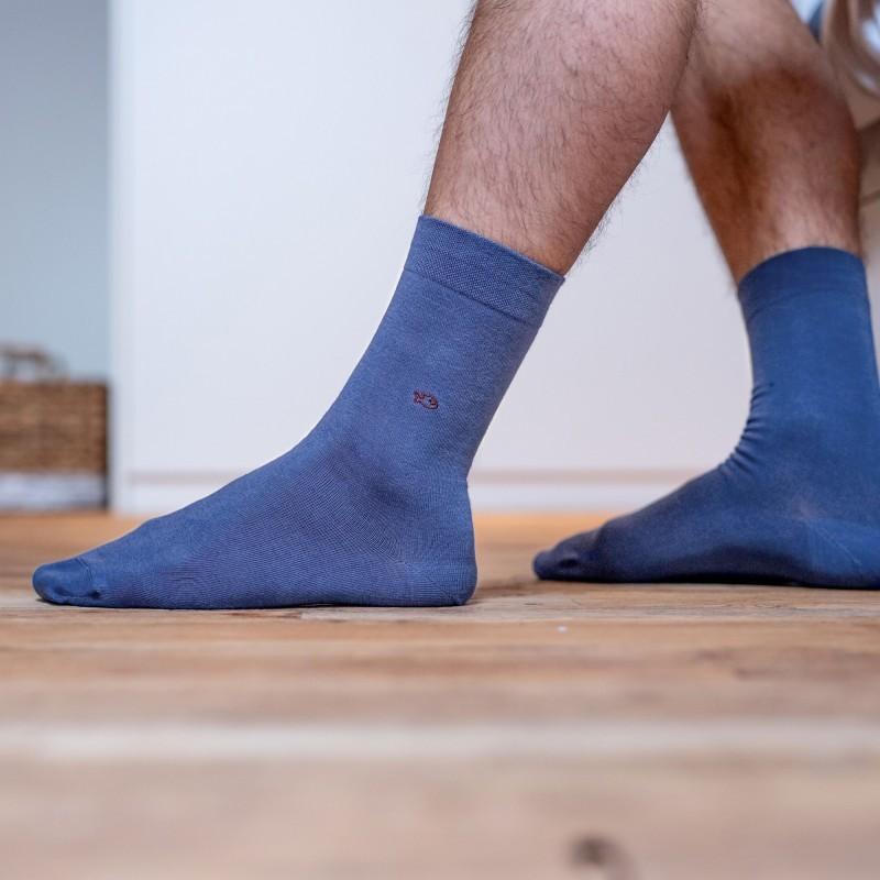 Cotton socks  Blue Air Force