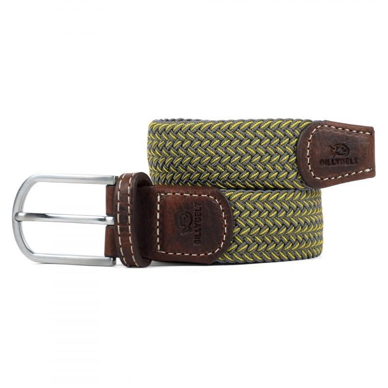 The Budapest yellow braided belt