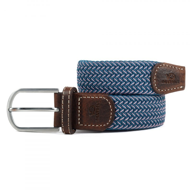 The Seoul blue woven belt