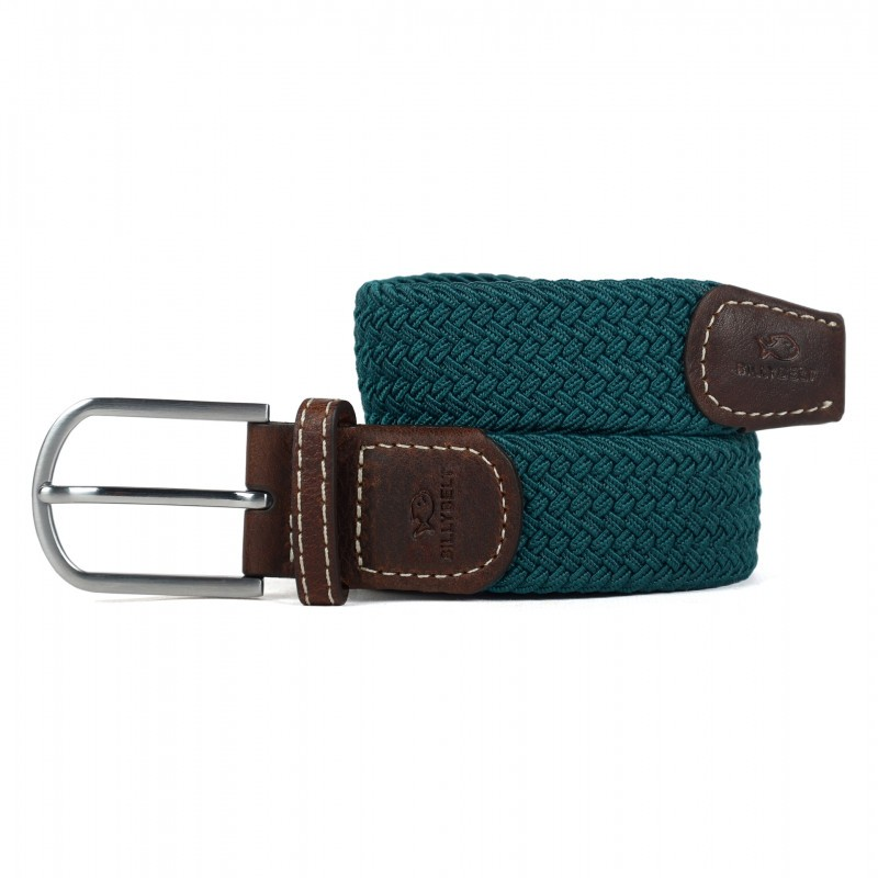 Caribbean blue Braided Belt