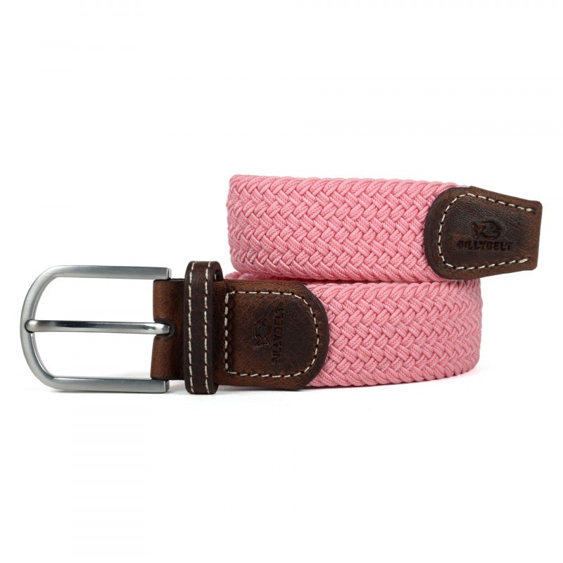 Pink Braided Belt