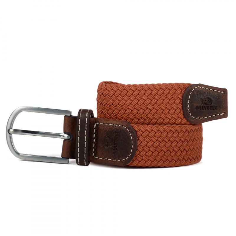Terracotta Braided Belt