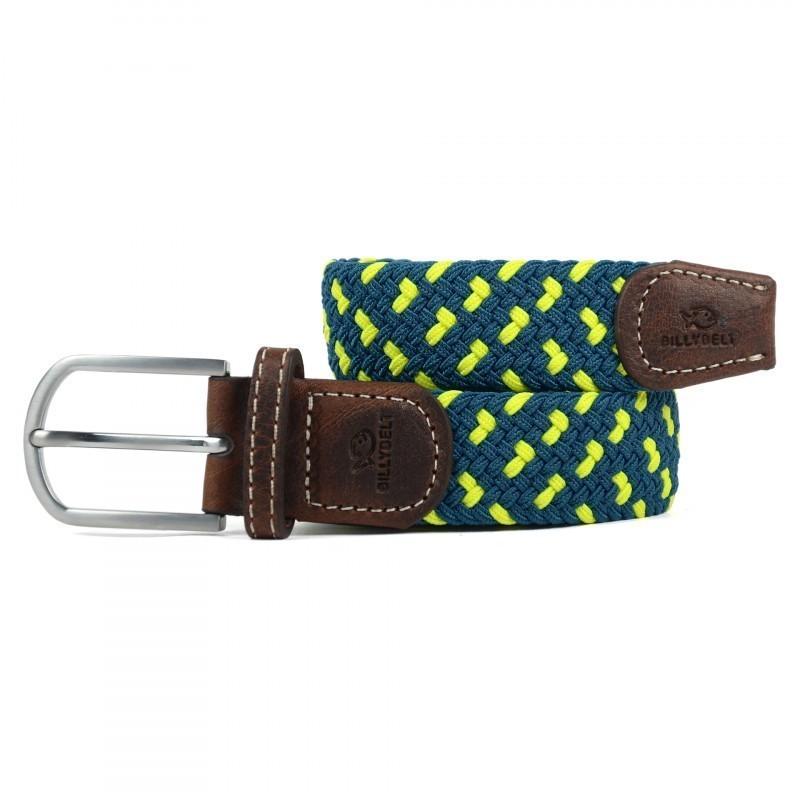 yellow woven belt