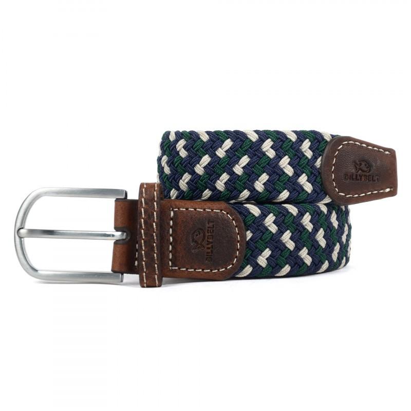 tricolour woven belt