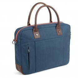 Laptop Bag  Navy and Red