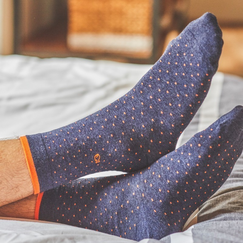 Cotton socks  Slate Square