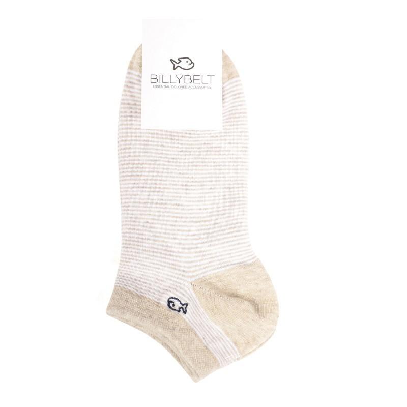 Sand Striped Socks