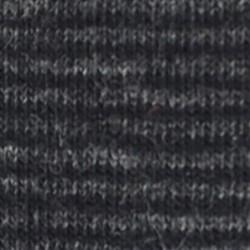 Socquettes coton  Rayée Grise