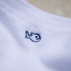 Socquettes coton  Blanche