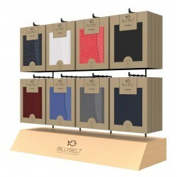BOXER BRIEFS WOOD AND METAL DISPLAY Offered when setting up