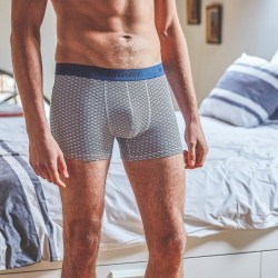 Organic cotton boxer briefs  Blue Japan