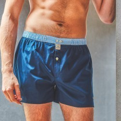 Organic cotton boxer shorts  Navy Blue