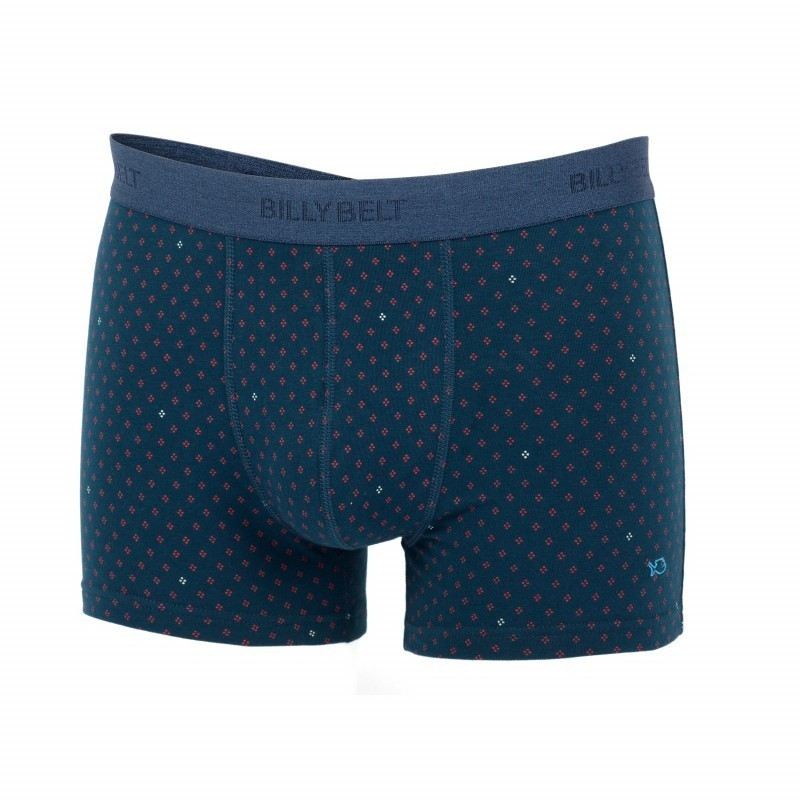 Blue Boxer brief in organic cotton